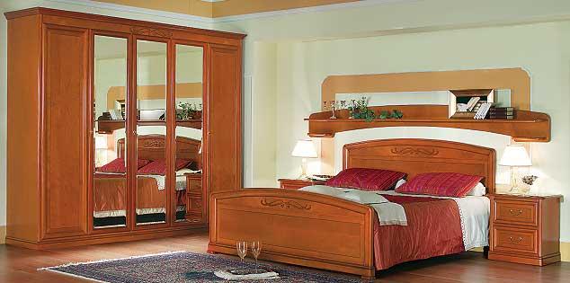 Спальня с зеркалами дизайн